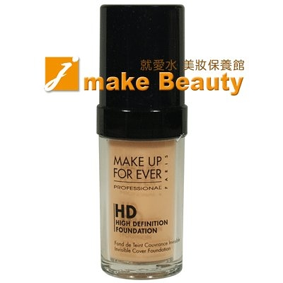 MAKE UP FOR EVER HD無瑕粉底液(30ml)《jmake Beauty 就愛水》