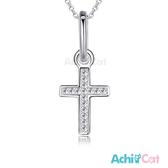 925純銀項鍊 AchiCat 純銀飾 幸福禱告 十字架