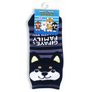 【琦菲家族-系列】襪子_黑柴21-24cm