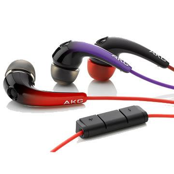 經典數位~AKG K328 通話耳機 IN-EAR iPhone 系列耳機 耳道式耳機(黑色/紅色/紫色)