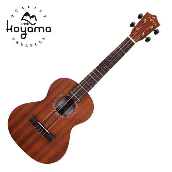 KOYAMA 26吋 KYM-T11李大仁 桃花心木烏克麗麗Tenor ukulele +調音器KT-220