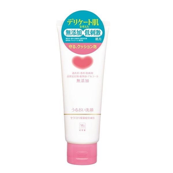 日本牛乳石鹼 COW 無添加洗面乳(滋潤型)(粉)110g