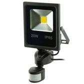LED薄型20W感應照明燈(暖白光)
