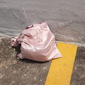 超美緞面字母刺繡包包 提袋 購物袋[AB03001] 預購 .朵曼堤洋行