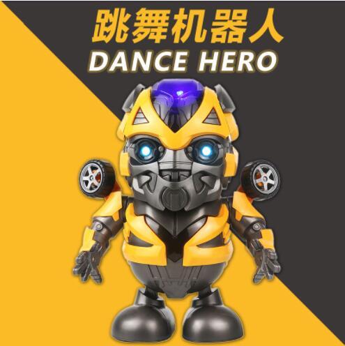 玩具 兒童玩具 跳舞機器人 發聲玩具 大黃蜂 鋼鐵俠 電動 公仔 禮物 男生 兒童 網紅同款
