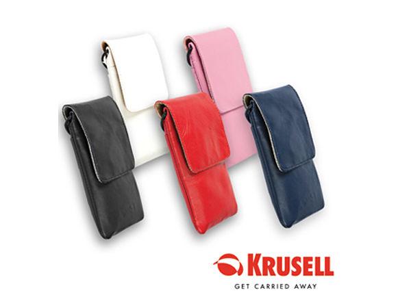 【A Shop】 瑞典 KRUSELL Dalby 真皮手機套 iPhone SE/6S/5S/5C/Touch5/TR200/TR350適用 Samsung HTC 部分適用