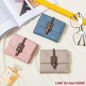 Prettyzys/普瑞蒂新款錢包女短款學生日韓版多功能折疊錢包歐歐歐流行館