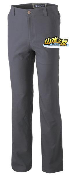 【山水網路商城】荒野WILDLAND 新款 男日本紗彈性抗UV長褲 透氣/排汗 0A31306-96 深鐵灰