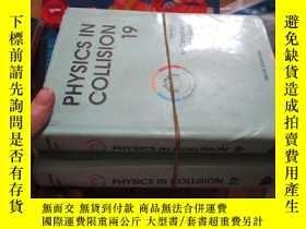 二手書博民逛書店b0080精裝physics罕見in collision 191