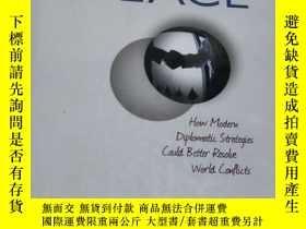 二手書博民逛書店elusive罕見peace 【 32開 、英文原版】 (以圖片