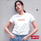 Levis 女款 短袖T恤 / 高密度膠印 Box Logo