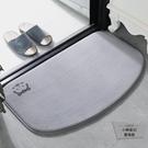 半圓衛生間地墊浴室廁所防滑地毯門墊洗手間【小檸檬3C】