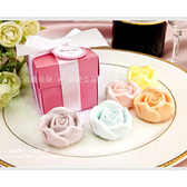 *幸福朵朵*╯Pink粉紅盒裝--玫瑰皂禮盒-迎賓禮.送客伴手禮/二次進場/抽獎/婚禮小物