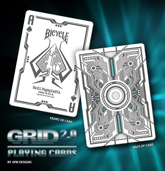 【USPCC撲克】Bicycle The GRID 2.0 PLAYING CARDS