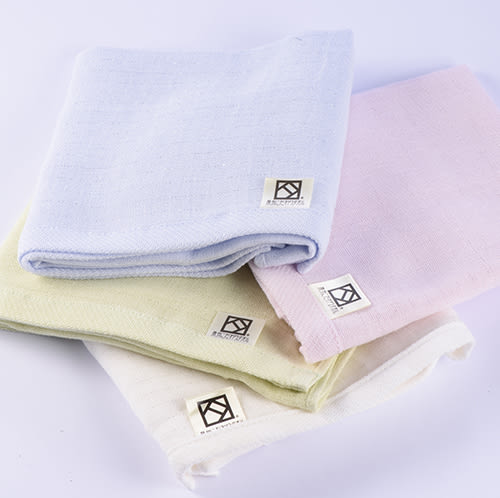 (中)日本製大阪泉州+mju-func®銀纖維抗菌.防臭棉紗毛巾(淺粉紅)-妙屋房