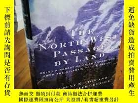 二手書博民逛書店The罕見North-West Passage by Land