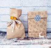 復古簡約環保牛皮紙袋 明信片包裝 雜物袋 禮物袋【全館鉅惠85折】