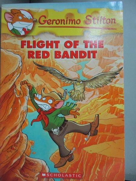 【書寶二手書T2/原文小說_OMO】Flight of the Red Bandit_Stilton, Geronimo