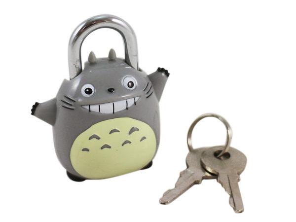 【卡漫城】 龍貓 造型 鎖頭 keychain 行李箱 健身房 吊飾 掛飾 掛環 保險箱 抽屜 Totoro