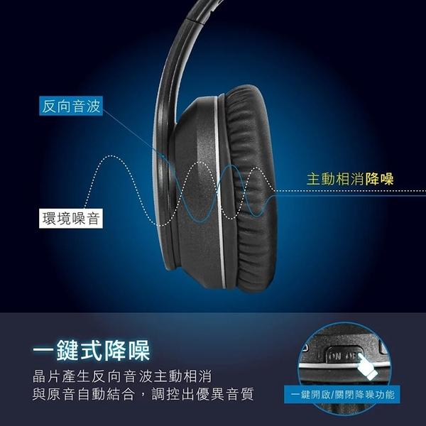 ◆KINYO耐嘉 BTE-3889 頭戴式降噪藍牙耳機麥克風 Bluetooth 藍芽耳機 可折疊 耳罩式 無線耳麥 音樂播放