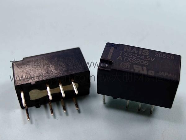 *大朋電子商城*NAIS TXS2-4.5V 繼電器Relay(5入)
