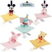 美國 Zoobies DISNEY三合一安撫玩偶|安撫巾|固齒器(5款可選)