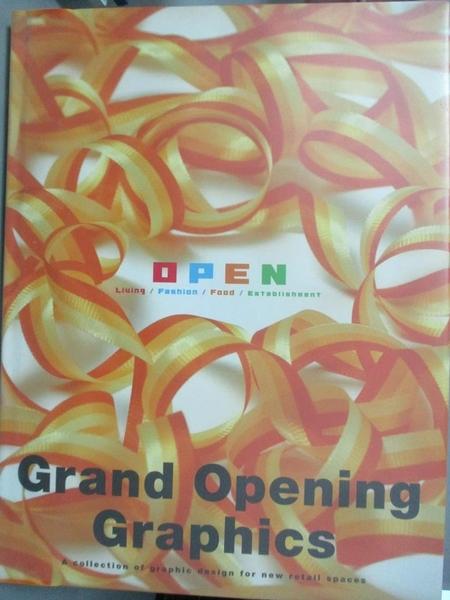 【書寶二手書T7/設計_EVG】Grand opening graphics_Pie Books