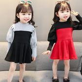 嬰兒童裝1歲女寶寶春裝洋裝2女童長袖裙子春秋款3春季韓國衣服4 【全館免運八五折】