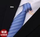 依芝鎂-k1232領帶手打8cm花紋領帶寬版領帶,售價150元
