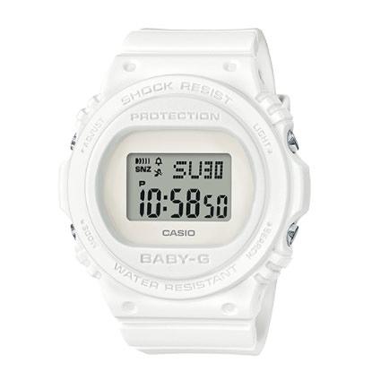 Baby-G 經典暢銷 復古與時尚風格 運動計時女錶 防水手錶 BGD-570-7 CASIO卡西歐