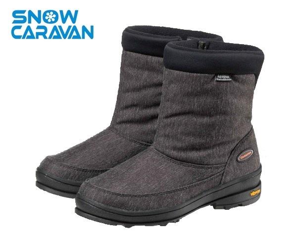 【日本Caravan 】  SHC_31W  女款防水短筒雪靴 (共三色)
