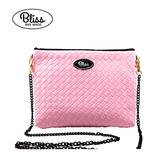 【正版授權】泰國Bliss BKK包 素色編織紋粉紅 4款背帶可選 現貨供應中