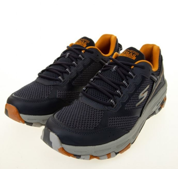 SKECHERS GORUN TRAIL ALTITUDE 男款 深藍 黑色 透氣 運動 慢跑鞋 220112NVMT【KAORACER】