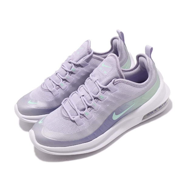 Nike 慢跑鞋 Wmns Air Max Axis PREM 紫 綠 漸層 氣墊 女鞋 【PUMP306】 BQ0126-500