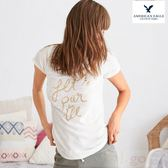 【BJ.GO】AMERICAN EAGLE_女裝_AERIE REAL SOFT® GRAPHIC TEE 舒適的圓領T恤 現貨S