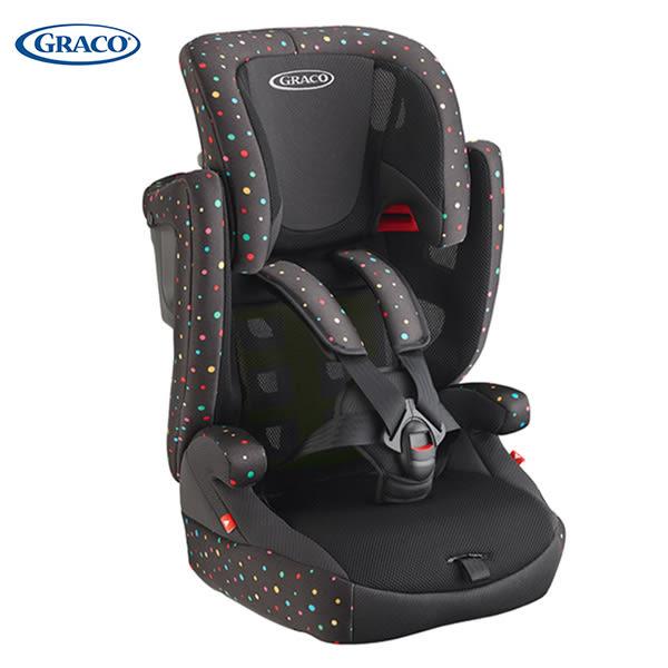 【Graco】嬰幼兒成長型輔助汽車安全座椅 AirPop - 繽紛彩
