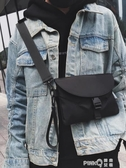 土酷包斜挎小包女背包蹦迪潮牌胸包嘻哈街頭潮流學生個性單肩包男    (pink Q 時尚女裝)