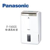 【天天限時 一級能效】PANASONIC 國際 F-Y45GX 22公升 除濕高效型