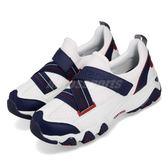 Skechers D Lites 2.0-Lightly Talk 白 藍 深藍 無鞋帶 韓系 女鞋 運動鞋【PUMP306】 12978WNVR