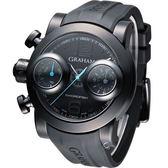 GRAHAM 格林漢 左冠計時機械腕錶 2SWBB.U36L.K58N