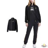 Puma TFS 黑 外套 女 棉質外套 流行系列 立領外套 運動 休閒 健身 慢跑 長袖外套 59836951