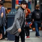 西裝外套-時尚有型英倫風帥氣長版大衣72p30[巴黎精品]