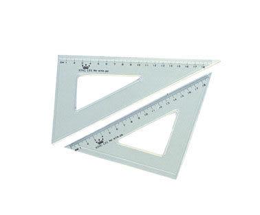義大文具~LIFE  塑膠三角板(20cm) KTR-20  自動鉛筆 學生用品 開學用品