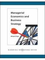 二手書博民逛書店 《Managerial Economics & Business Strategy》 R2Y ISBN:0071263209│MichaelR.Baye