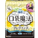 蘇菲口袋魔法衛生棉清澄香氛30cm12片【愛買】