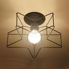 YP燈飾 五角星玄關半吸頂燈...