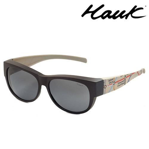 HAWK偏光太陽套鏡(眼鏡族專用)HK1006UK-SG