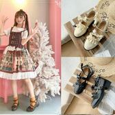 娃娃鞋低跟梅露露Lolita鞋日系花邊圓頭學生鞋jk制服小皮鞋圓頭lo少女 萊俐亞