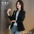 外套 春季新款韓版小西裝女士外套短款修身職業裝顯瘦正裝西服上衣