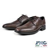 【IMAC】義大利時尚綁帶氣墊德比紳士鞋  咖啡(80010-BR)
